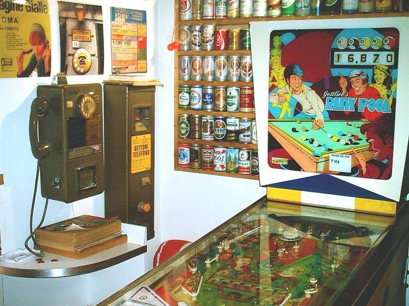 La Riparazione del Flipper : Un flipper anni 70 in un Bar anni 70 ...