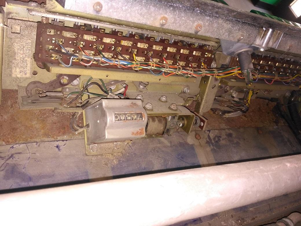 Schema Elettrico Jukebox Seeburg : La riparazione del flipper seeburg l