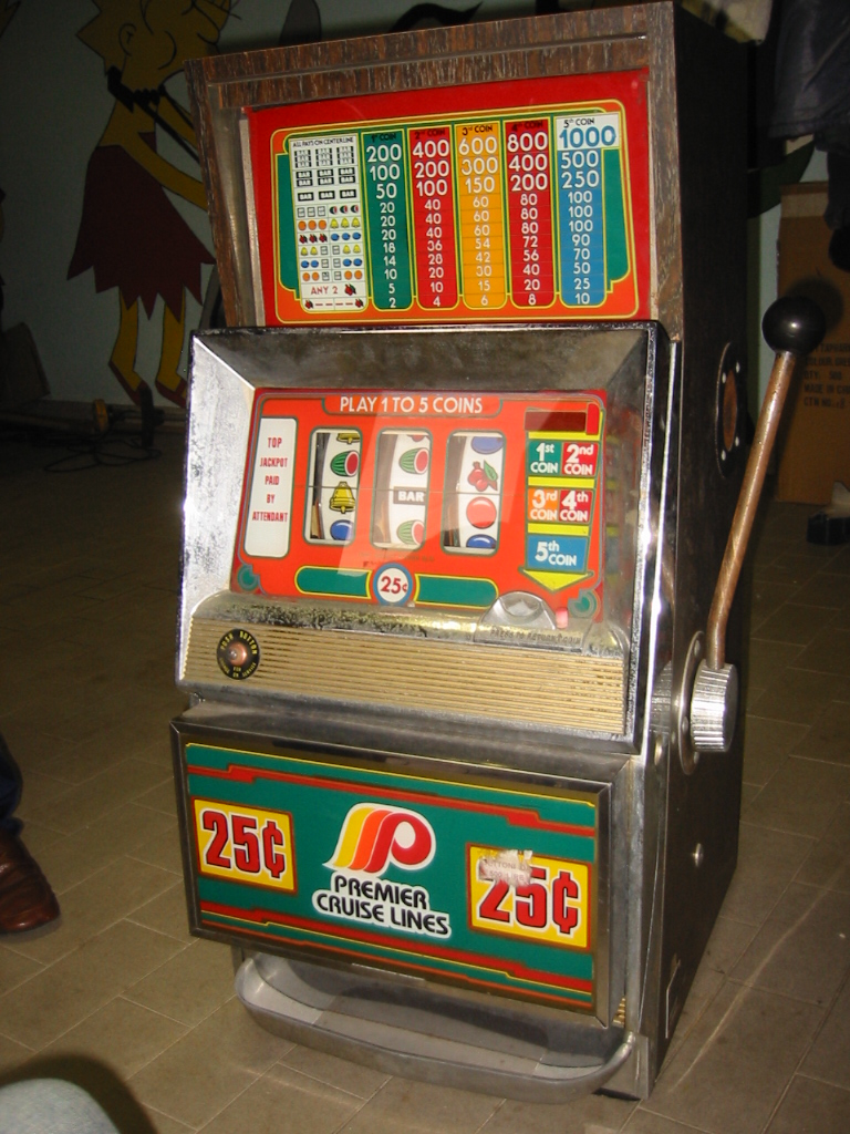 Blocco slot machine