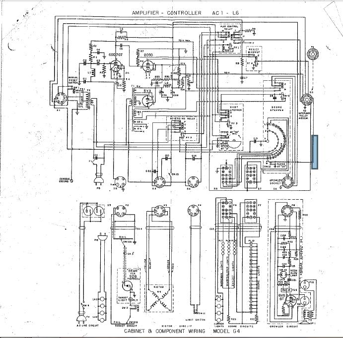 Schema Elettrico Jukebox Seeburg : La riparazione del flipper tiro all orso seeburg inizia